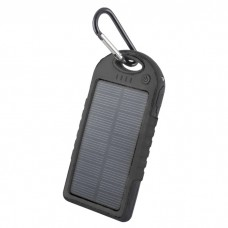 Power Bank Με Ηλιακό Panel Forever STB-200 5000mAh Μαύρο